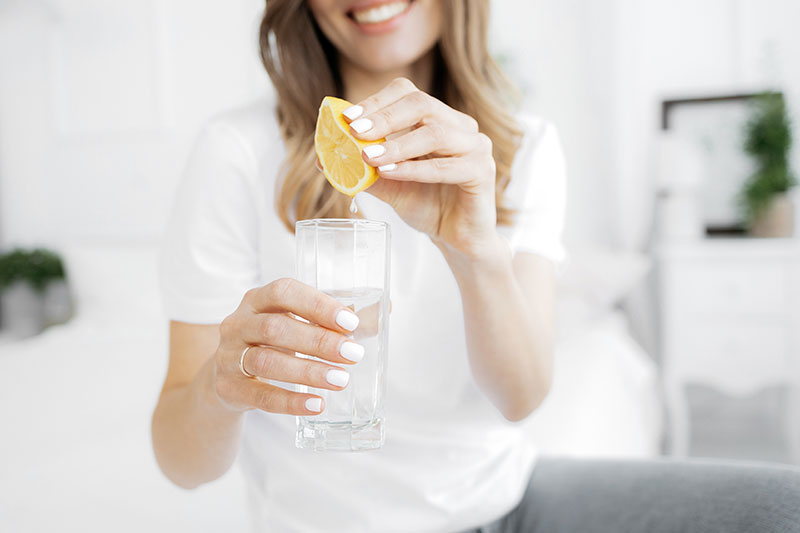 why you should drink lemon water